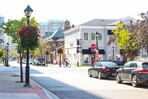 Picture of Downtown Burlington